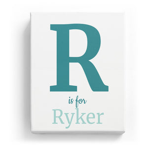 R is for Ryker - Classic