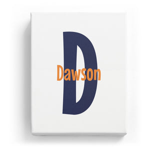 Dawson Overlaid on D - Cartoony