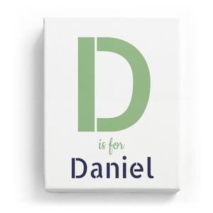D is for Daniel - Stylistic