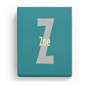Zoe Overlaid on Z - Cartoony