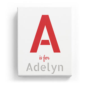 A is for Adelyn - Stylistic