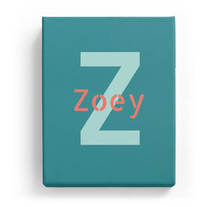 Zoey Overlaid on Z - Stylistic
