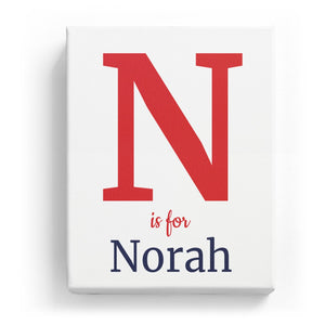 N is for Norah - Classic