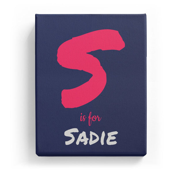 S is for Sadie - Artistic