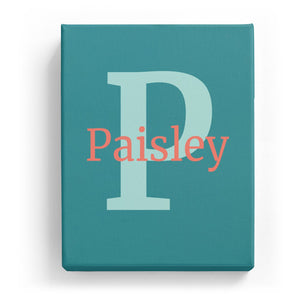 Paisley Overlaid on P - Classic