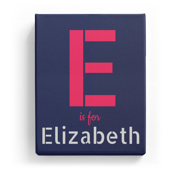 E is for Elizabeth - Stylistic