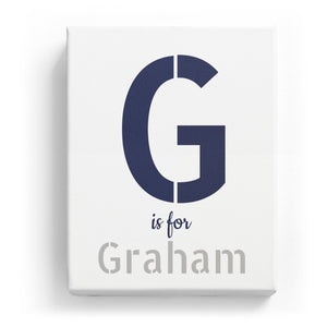G is for Graham - Stylistic