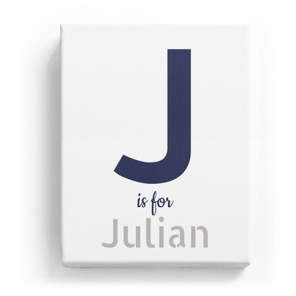 J is for Julian - Stylistic