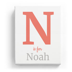 N is for Noah - Classic