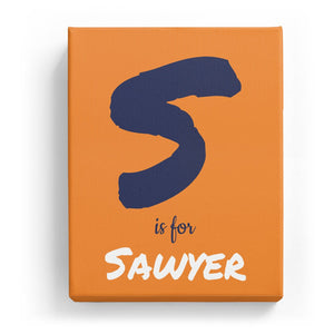 S is for Sawyer - Artistic