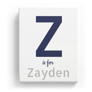 Z is for Zayden - Stylistic