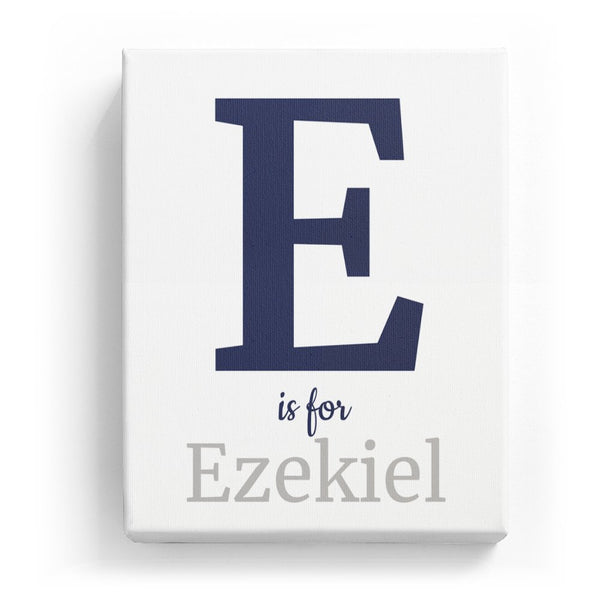 E is for Ezekiel - Classic