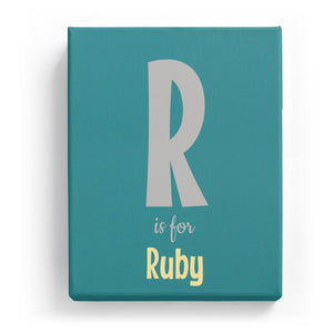 R is for Ruby - Cartoony