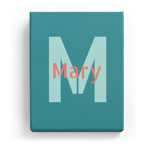 Mary Overlaid on M - Stylistic