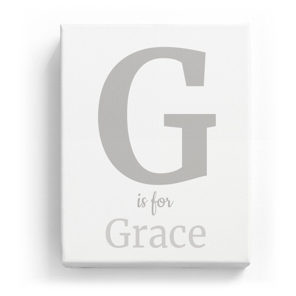G Is For Grace Classic