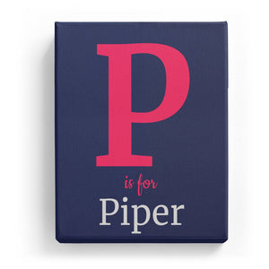 P is for Piper - Classic