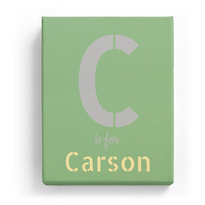 C is for Carson - Stylistic