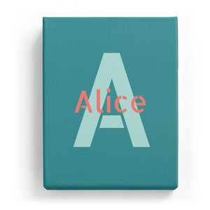 Alice Overlaid on A - Stylistic
