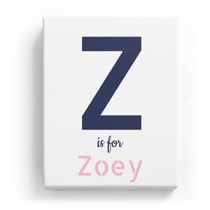 Z is for Zoey - Stylistic