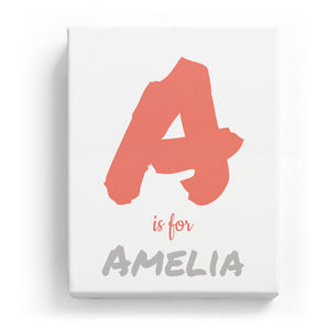 A is for Amelia - Artistic
