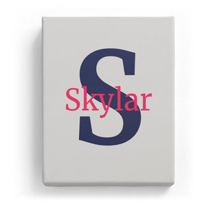 Skylar Overlaid on S - Classic