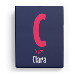 C is for Clara - Cartoony