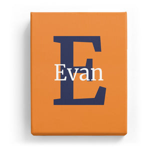 Evan Overlaid on E - Classic