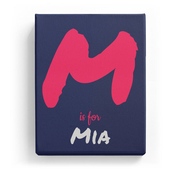 M is for Mia - Artistic