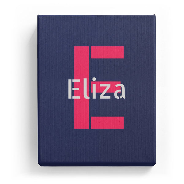 Eliza Overlaid on E - Stylistic