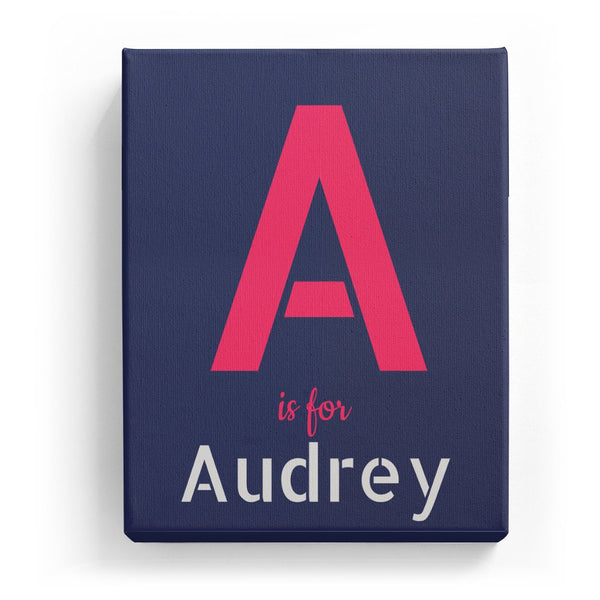 A is for Audrey - Stylistic