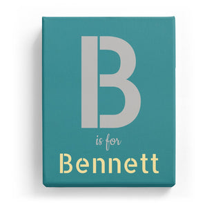 B is for Bennett - Stylistic