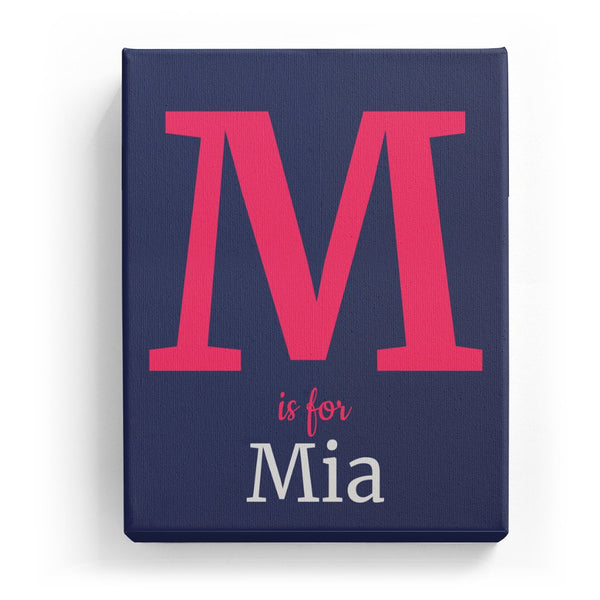 M is for Mia - Classic