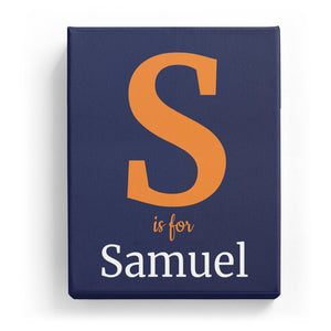 S is for Samuel - Classic