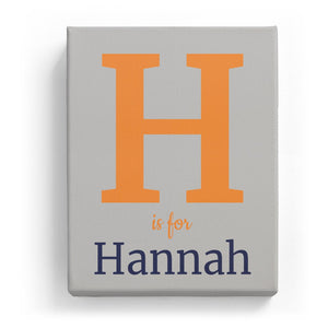 H is for Hannah - Classic
