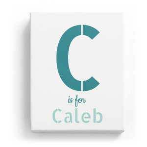 C is for Caleb - Stylistic