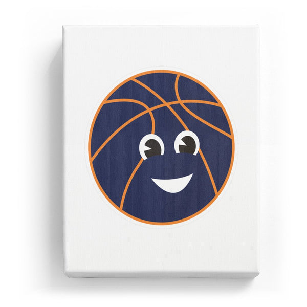 Basketball with a Face - No Background