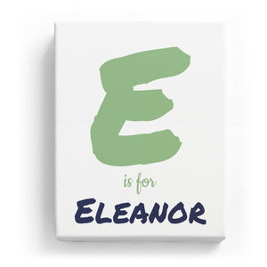 E is for Eleanor - Artistic
