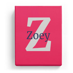 Zoey Overlaid on Z - Classic