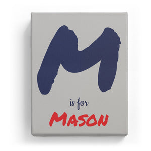M is for Mason - Artistic