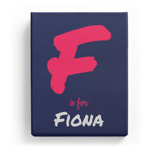 F is for Fiona - Artistic