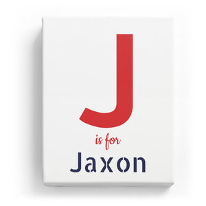 J is for Jaxon - Stylistic