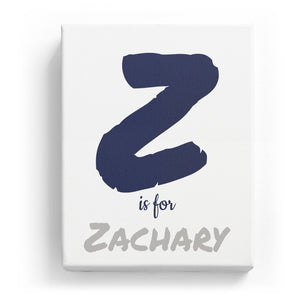 Z is for Zachary - Artistic