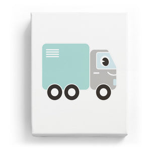 Truck with Face - No Background