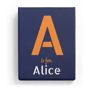 A is for Alice - Stylistic