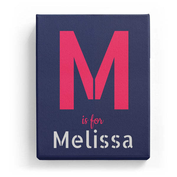M is for Melissa - Stylistic