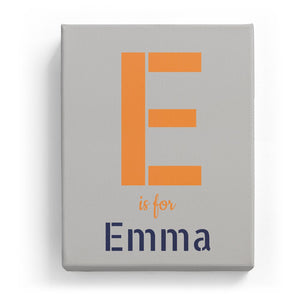 E is for Emma - Stylistic