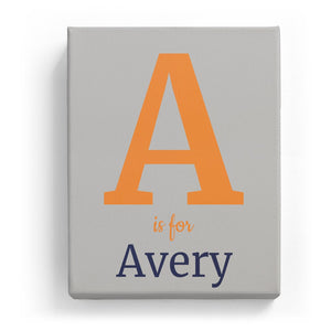 A is for Avery - Classic