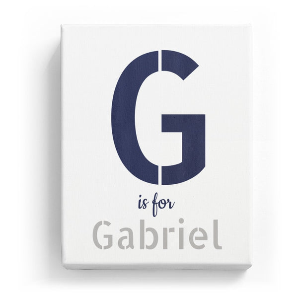 G is for Gabriel - Stylistic