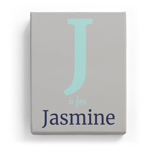 J is for Jasmine - Classic