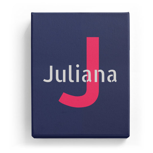 Juliana Overlaid on J - Stylistic